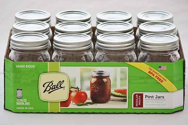 83abf778a7f6 Ball Pint Jars