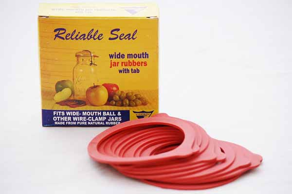 Canning Jar Gaskets Rubber Rings