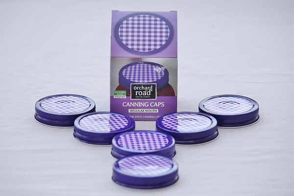 One Piece Canning Lid Decorative Mason Jar Lids