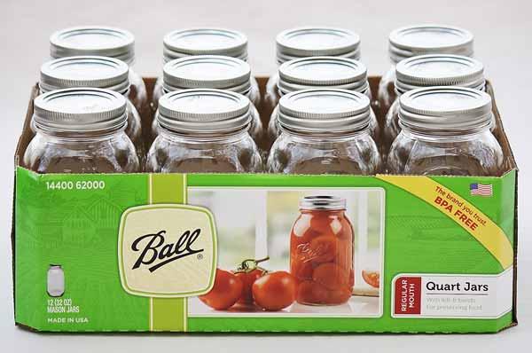 ball quart jars regular mouth quart canning jars pressure cooker