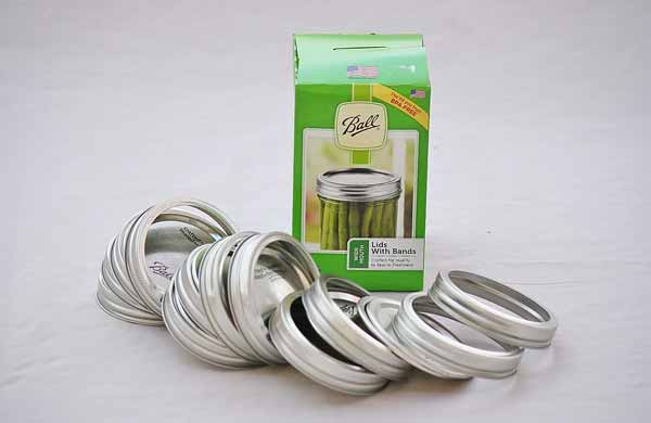 Wide Mouth Canning Lids and Rings