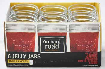 Orchard Road 8 oz Jelly Jars