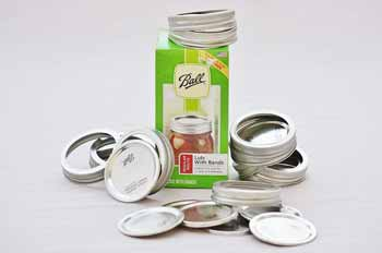 Ball Regular Mouth Lids and Bands