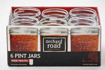 Orchard Road Wide Mouth Pint Jars