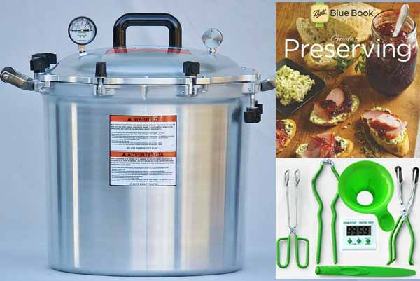 All American 41 Quart Pressure Canning Kit