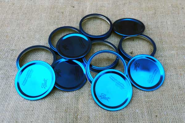 Decorative Wide Mouth Mason Jar Lids