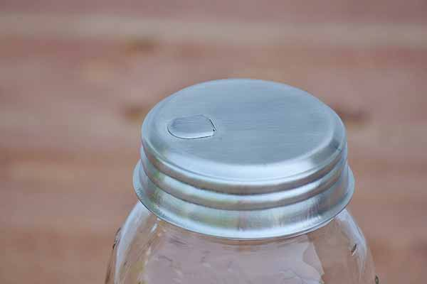 Mason Jar Sugar Dispenser