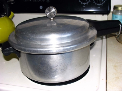 Old Fashioned Prestige Pressure Cooker