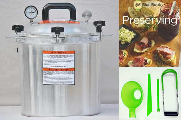 All American 25 Quart Pressure Canning Kit