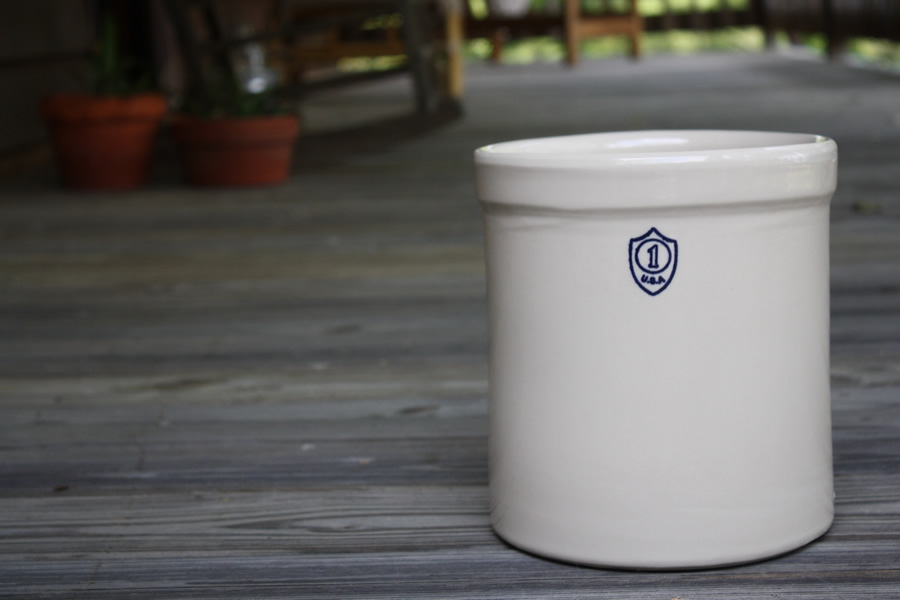 Stoneware Crocks By Ohio Stoneware Ceramic Crocks