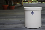 1 Gallon Ohio Stoneware Pickling Crock