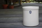 1 Gallon Ohio Stoneware Pickling Crock
