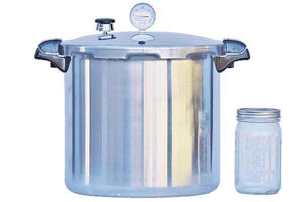 presto glass top canning jar