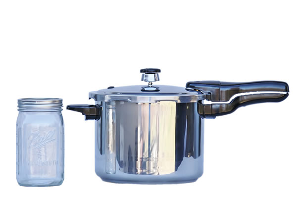 Presto Pressure Cooker 6 Quart Stainless Steel