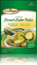 Mrs. Wages Quick Process Bread and Butter Pickle Mix