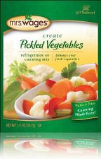 Mrs. Wages Pickled Vegetables Refrigerator or Canning Mix