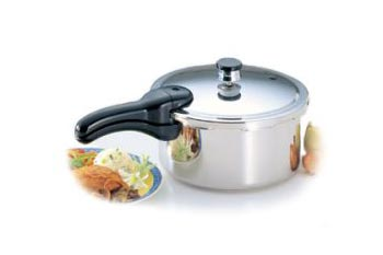 Presto Pressure Cooker 4 Quart Stainless Steel