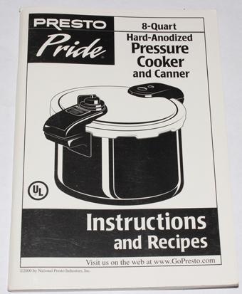 Presto pressure canner 3-piece regulator weight healthy canning.