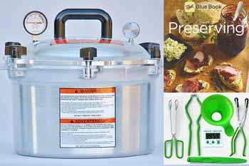 All American 15 Quart Pressure Canning Kit