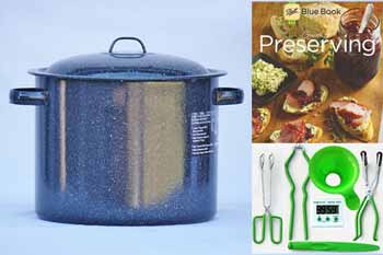 Graniteware 11.5 Quart Water Bath Canning Kit