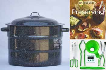 Graniteware 21 Quart Water Bath Canning Kit