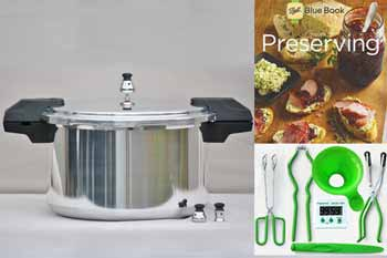 Mirro 16 Quart Pressure Canning Kit