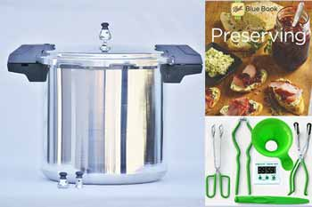 Mirro 22 Quart Pressure Canning Kit