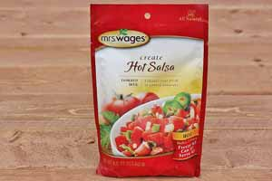 Mrs Wages Hot Salsa Mix