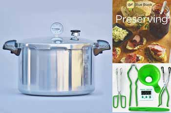 Presto 16 Quart Pressure Canning Kit
