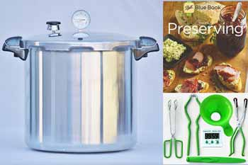 Presto 23 Quart Pressure Canning Kit