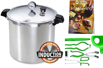 Presto Induction 23 Quart Pressure Canning Kit