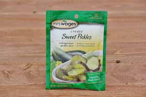 Sweet Refrigerator Pickles Mix