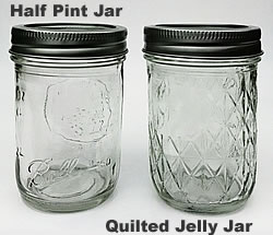 ball quilted crystal jelly jars vintage. ball wide mouth canning jars quilted crystal jelly vintage r